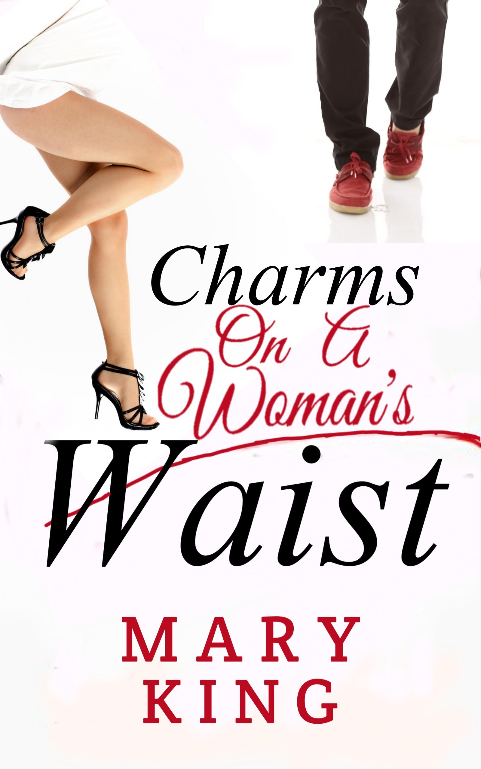 Charms on a woman's waist